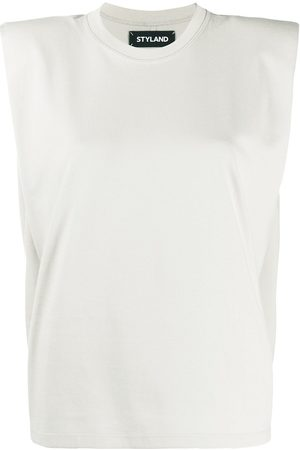 Styland Boxy sleeveless T-shirt