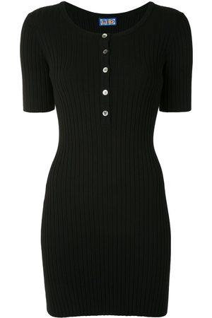 LHD Ribbed-knit mini dress