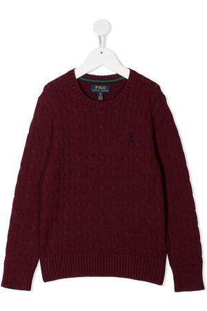 Ralph Lauren Long-sleeve cable knit jumper