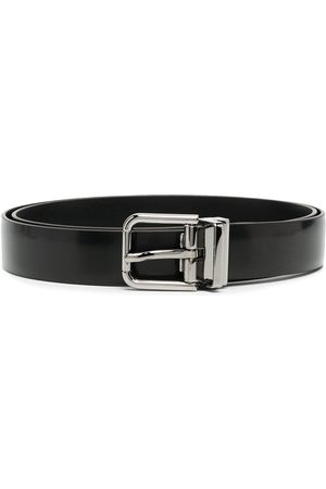 Dolce & Gabbana Logo-engraved buckle belt