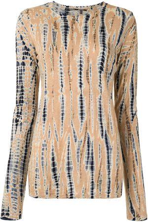 Proenza Schouler Tie-dye long sleeve top