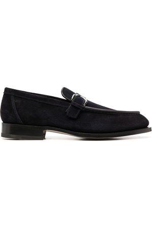 santoni Side-buckle loafers