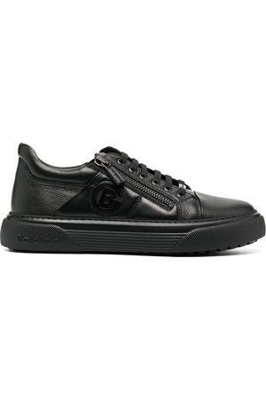 BALDININI Low-top leather trainers