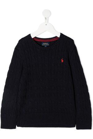 Ralph Lauren Long-sleeved embroidered logo jumper