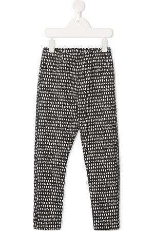 Le pandorine Dot-print slim-fit leggings