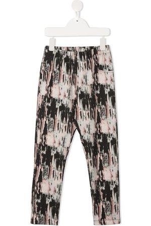 Le pandorine Aurora-print slim-fit leggings