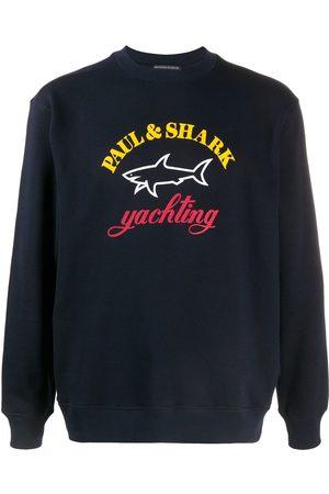 Paul & Shark Logo print jumper