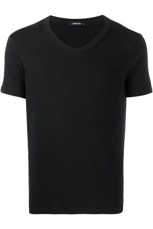 TOM FORD Homem T-shirts & Manga Curta - V-neck cotton T-shirt
