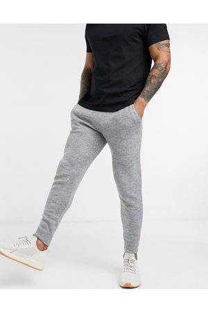 ASOS DESIGN Knitted co-ord joggers in grey