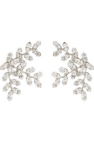 Jennifer Behr Senhora Brincos - Vignette crystal earrings