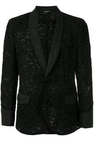 Dolce & Gabbana Floral lace pattern blazer