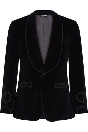 Dolce & Gabbana Single-breasted tailored tuxedo blazer