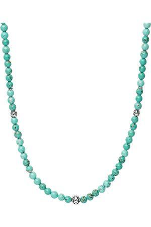 Nialaya Homem Colares - Turquoise beaded necklace