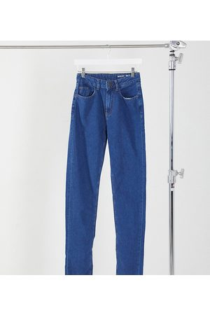 Noisy May Straight leg jeans in authentic dark blue