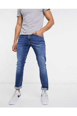 Calvin Klein Jeans Slim fit jeans in mid wash-Blue