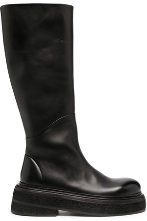 MARSÈLL Chunky-sole knee-length boots