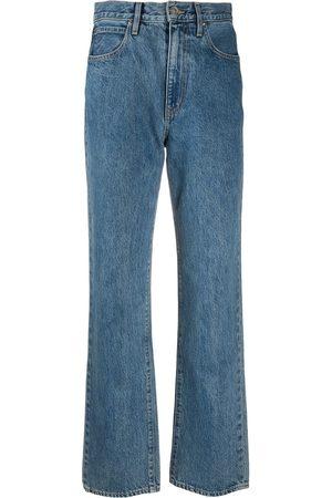 SLVRLAKE High-rise straight-leg jeans