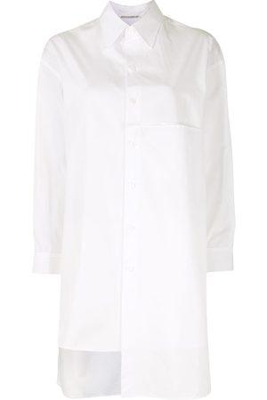 YOHJI YAMAMOTO Asymmetric oversized shirt