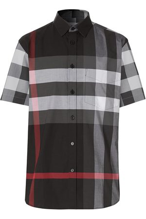 Burberry Checked short-sleeve shirt