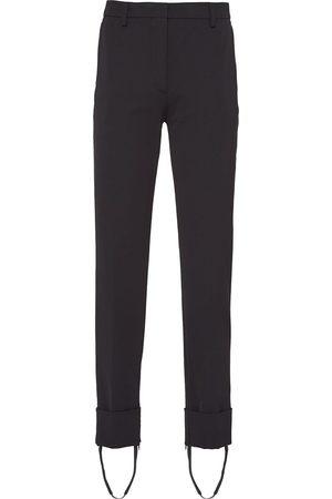Prada Stirrup-ankle tailored trousers