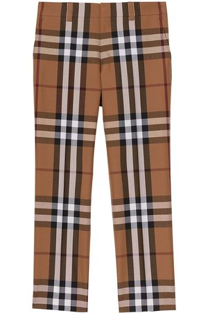 Burberry House Check tailored trousers