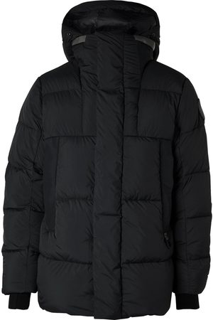 Canada Goose Label Osborne Quilted Shell Down Hooded Parka