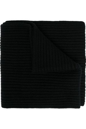 Dolce & Gabbana Thick ribbed knit scarf