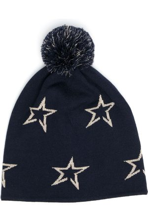 Perfect Moment Star merino wool beanie