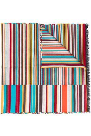 Paul Smith Striped print scarf