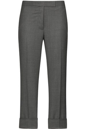Thom Browne Cropped slim leg trousers