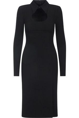Dolce & Gabbana Cady cut-out midi dress
