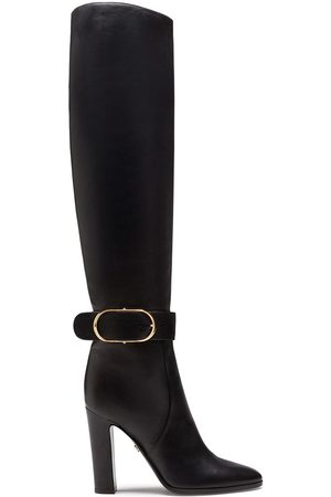 Dolce & Gabbana Boots in foulard calfskin with decorative buckle