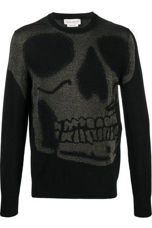 Alexander McQueen Skull-motif knitted jumper