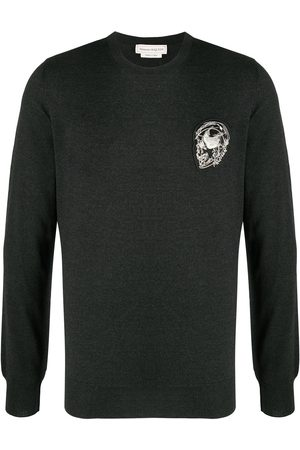Alexander McQueen Patch-detail jumper
