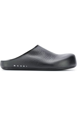Marni Slip-on leather clogs