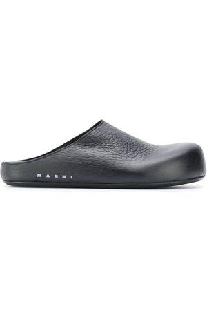 Marni Slip-on leather clogs