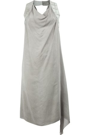 ISAAC SELLAM EXPERIENCE Contrast strap draped dress