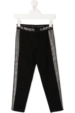 Alberta Ferretti Side stripe track pants