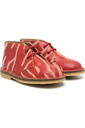 PèPè Tiger print ankle boots