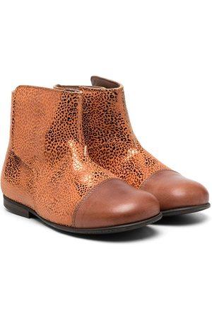 PèPè Metallic-effect ankle boots