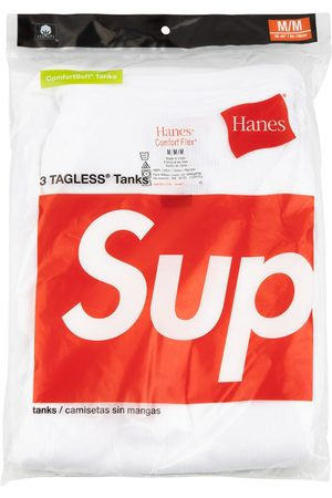Supreme Hanes three-pack tank tops