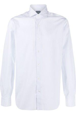 BARBA Striped buttoned shirt