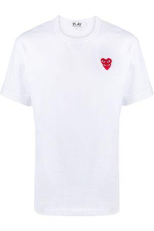 Comme des Garçons Heart logo print T-shirt