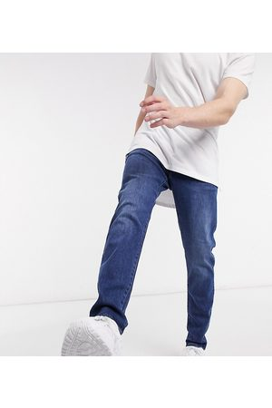 G-Star 3301 slim in mid wash Exclusive at ASOS-Blue