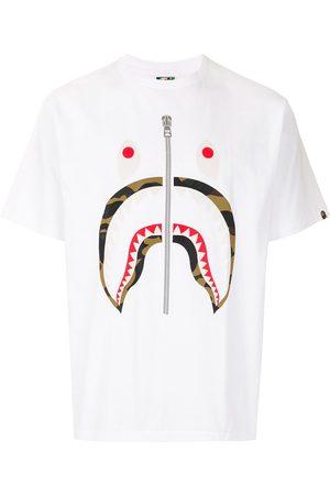 A BATHING APE® Camo Shark short sleeved T-shirt