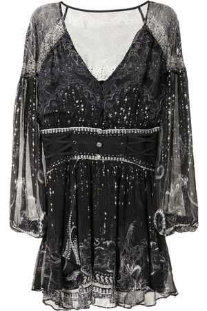 Camilla Senhora Vestidos Casual - Midnight Pearl mini dress
