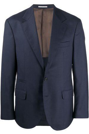 Brunello Cucinelli Homem Blazers - Single-breasted blazer