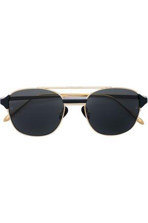 Linda Farrow Homem Óculos de Sol - Reed square-frame sunglasses