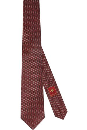 Gucci Interlocking G Horsebit tie