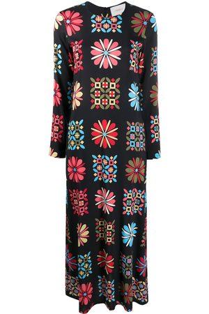 La DoubleJ Mulher Vestidos de Festa - Printed midi dress